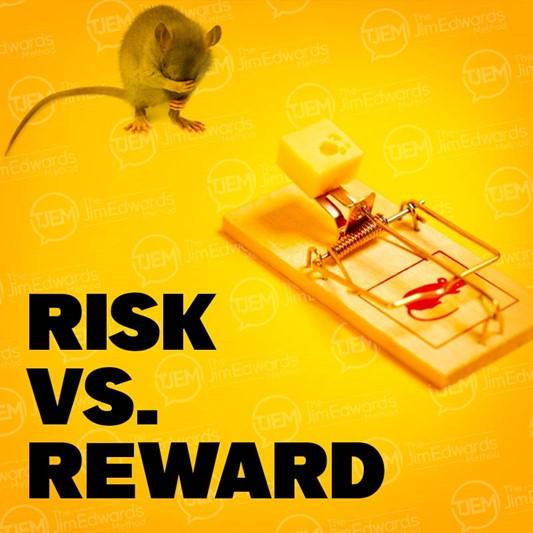 Taking Risks In Business = Rewards